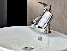 Installation of hot water services, taps, toilets, sink mixers,